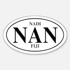 NAN Nadi Oval Decal