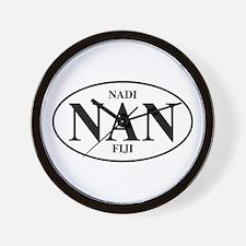 NAN Nadi Wall Clock