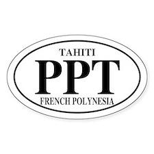 PPT Tahiti Oval Decal