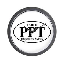PPT Tahiti Wall Clock