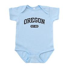Oregon Est 1859 Infant Bodysuit