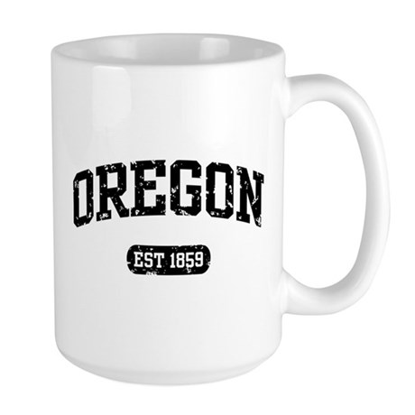 Oregon Est 1859 Large Mug