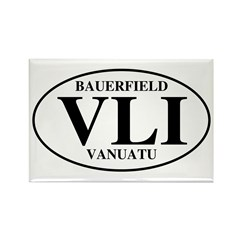 VLI Bauerfield Rectangle Magnet (100 pack)