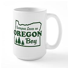 Everyone Loves an Oregon Boy Mug
