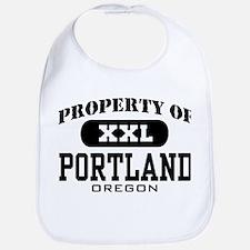 Property of Portland Oregon Bib