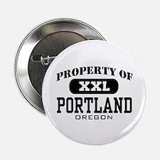 Property of Portland Oregon Button