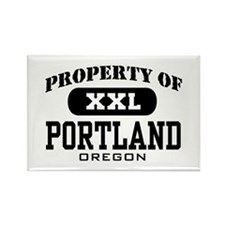 Property of Portland Oregon Rectangle Magnet