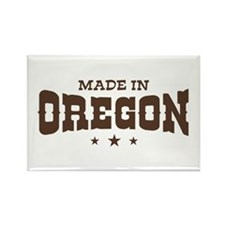 Made in Oregon Rectangle Magnet