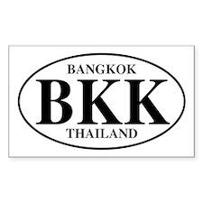 BKK Bangkok Rectangle Decal