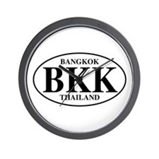 BKK Bangkok Wall Clock