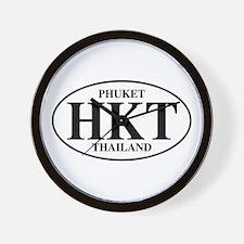HKT Phuket Wall Clock