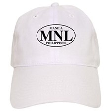 MNL Manila Baseball Cap