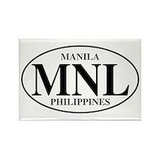 MNL Manila Rectangle Magnet (10 pack)