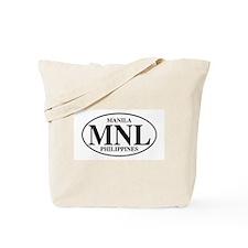 MNL Manila Tote Bag