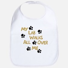 Walking Labrador Bib
