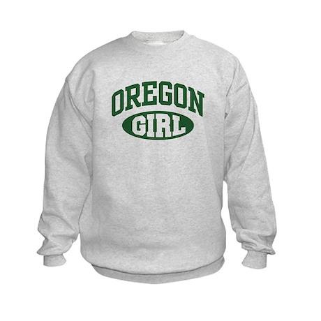 Oregon Girl Kids Sweatshirt