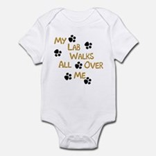 Walking Labrador Infant Creeper
