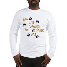 Walking Labrador Long Sleeve T-Shirt