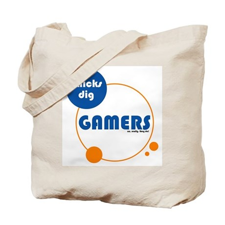 Chicks Dig Gamers Tote Bag