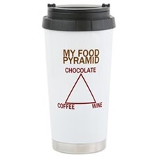 Cute Food drink coffee Travel Mug