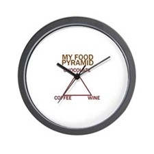 Unique Chocolate and coffee Wall Clock
