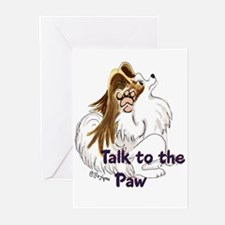 Talk to the Paw Greeting Cards (Pk of 20)