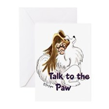 Talk to the Paw Greeting Cards (Pk of 10)