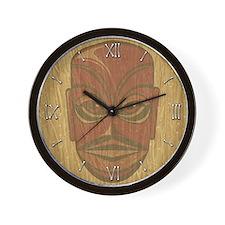 Tiki Tonga Wall Clock