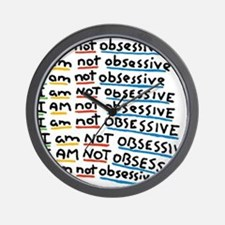 Cute Obsessive compulsive disorder Wall Clock
