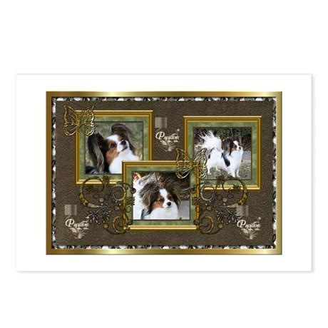 Elegant Papillons Postcards (Package of 8)