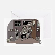 burglars Greeting Card