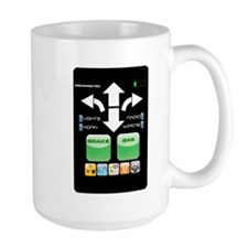 The Doctor's Evil Remote Mug