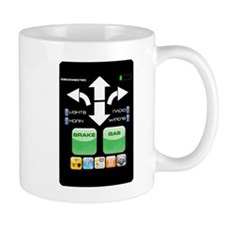 The Doctor's Evil Remote Small Small Mug