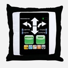 The Doctor's Evil Remote Throw Pillow