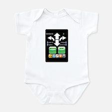 The Doctor's Evil Remote Infant Bodysuit