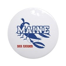 Maine Bar harbor Ornament (Round)
