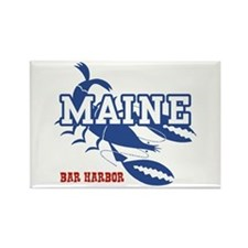 Maine Bar harbor Rectangle Magnet