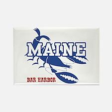 Maine Bar harbor Rectangle Magnet