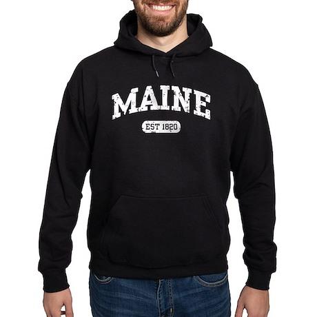Maine Est 1820 Hoodie (dark)