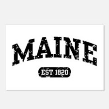 Maine Est 1820 Postcards (Package of 8)