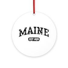 Maine Est 1820 Ornament (Round)