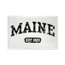 Maine Est 1820 Rectangle Magnet