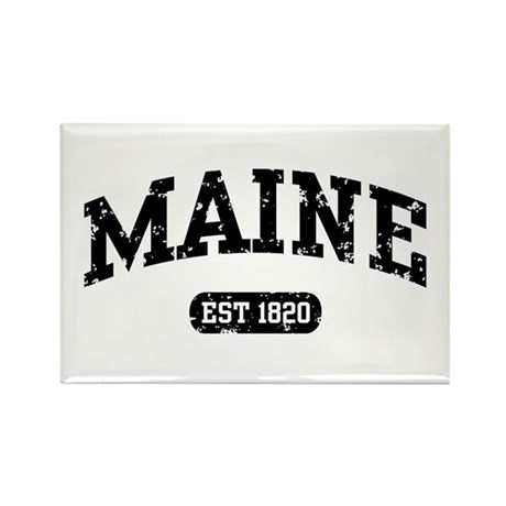 Maine Est 1820 Rectangle Magnet