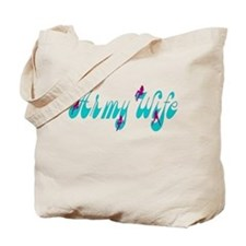 Army Wife Sexy Girl Tote Bag