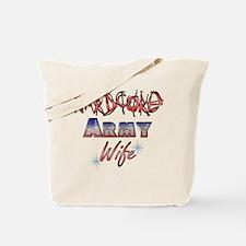 Hardcore Army Wife Tote Bag