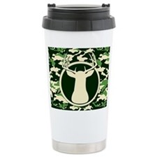 CAMO BUCK Travel Coffee Mug