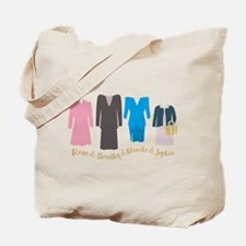 Golden Girls Outfits Tote Bag