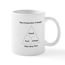 The Production Triangle Small Mug