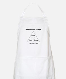 The Production Triangle Apron