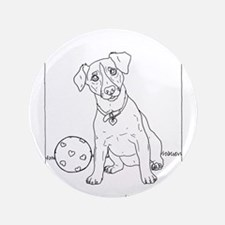 "Jack Russell Terrier 3.5"" Button"